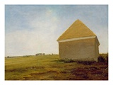 Newmarket Heath, with a Rubbing-Down House, c.1765 (Post-Restoration) Giclee Print by George Stubbs