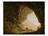 Cavern, Near Naples, 1774 Giclee Print by Joseph Wright Of Derby