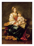 The Virgin of the Rosary Premium Giclee Print by Bartolome Esteban Murillo