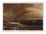 Peat Bog, Scotland, Engraved by George Clint (1770-1854) Reproduction procédé giclée par Joseph Mallord William Turner