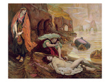 The Finding of Don Juan by Haidee, 1878 (Oil on Canvas) Giclee Print by Ford Madox Brown
