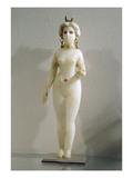 Statuette of a Female Nude, known also as the Great Babylonian Goddess Ishtar, 3rd-2nd Century BC Giclee Print by  Seleucid