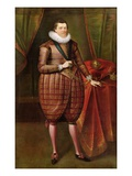James Vi of Scotland and I of England (1566-1625), c.1618 Giclee Print by Paul van Somer