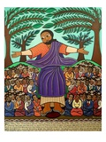 Sermon On The Mount, 2010 Giclee Print by Laura James