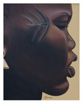 Tribal Mark, 2007 Giclee Print by Kaaria Mucherera
