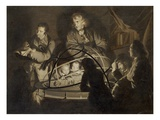 Philosopher Giving a Lecture on the Orrery, c.1768 Giclee Print by Joseph Wright Of Derby