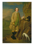 A Sportsman, 1752 Giclee Print by Edward Haytley