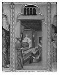 Cycle of the Life of the Virgin, Birth of the Virgin, C.1445 (Oil on Poplar Panel) (B/W Photo) Giclee Print by  Giovanni Francesco da Rimini