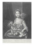 Morning, Engraved by Richard Houston, 1758 (Litho) Giclee Print by Philippe Mercier
