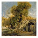 Harnham Gate, Salisbury, c.1820-21 Giclee Print by John Constable