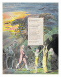 Ode on a Distant Prospect of Eton College, from 'The Poems of Thomas Gray', Published in 1797-98 Giclee Print by William Blake