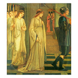 The Princess Sabra Led to the Dragon, 1866 Giclee Print by Edward Burne-Jones