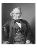 Richard Cobden, Engraved by William Holl from a Photograph, C.1860 (Engraving) Giclee Print by W. And D. Downey