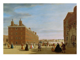 The Paper Buildings, Inner Temple, London, c.1725 Giclee Print