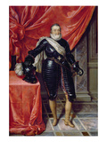 Henry Iv, King of France, in Armour, c.1610 Giclee Print by Frans II Pourbus