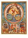 Ms Lat 209 Fol.6V Jupiter, from 'De Sphaera', C.1470 (Vellum) (For Detail See 125839) Giclee Print by Cristoforo de Predis