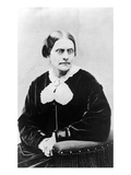 Susan Brownell Anthony (1820-1906) C.1871 (B/W Photo) Giclee Print by  American Photographer