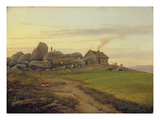 Hill Top, 1827 (Oil on Canvas) Giclee Print by Heinrich Stuhlmann