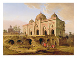 The Qal' A-L-Kuhna Masjid, Purana Qila, Delhi, c.1823 Giclee Print by Robert Smith