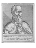 Fernando Alvarez De Toledo, 3rd Duke of Alba (Engraving) Giclee Print by William Marshall