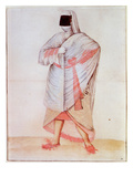 Turkish Woman (Lithograph) Giclee Print by John White
