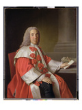 Alexander Boswell (1706-82) Lord Auchinleck, c.1754-55 Giclee Print by Allan Ramsay