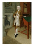 An Unknown Man in a Library, c.1740-41 Giclee Print by Anthony Devis