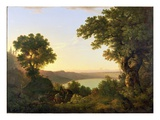 Lake Albano, Italy, 1777 Giclee Print by Thomas Jones