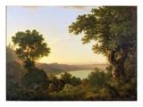 Lake Albano, Italy, 1777 Giclee Print by Thomas Jones