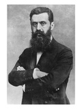 Theodor Herzl, 1903 (B/W Photo) Giclee Print by  Austrian Photographer