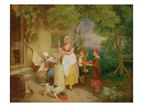 Morning, 1799 (Oil on Canvas) Reproduction procédé giclée par Francis Wheatley