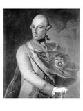 Portrait of Joseph II (1741-90) of Habsbourg-Lorraine Giclee Print by  Austrian