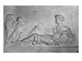History, C.1810 (Terracotta) Giclee Print by Claude Michel Clodion