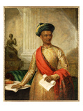 Purniya, Chief Minister of Mysore, c.1801 Giclee Print by Thomas Hickey