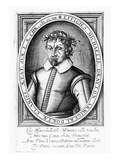 Michael Drayton (Engraving) Giclee Print by William Hole