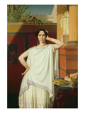 Tragedy Or, Portrait of Rachel, 1854 Giclee Print by Eugene Emmanuel Amaury-Duval