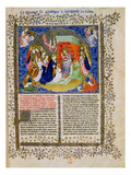 Ms F.242.Fol.A the Coronation of the Virgin, the Golden Legend, Early 15th Century Gicl&#233;e-Druck