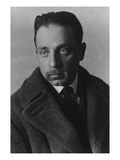 Rainer Maria Rilke (B/W Photo) Giclee Print by  German photographer