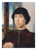 Portrait of a Young Man, C.1470-75 (Oil on Panel) Giclee Print by Hans Memling