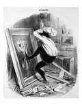 'Ungrateful Country, You Shall Not Have My Masterpiece', 1840 (Litho) Giclee Print by Honore Daumier