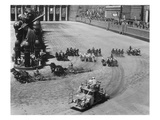 Filming the Chariot Race from 'Ben-Hur', 1925 (B/W Photo) Giclee Print by  American Photographer