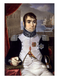 Portrait of Eugene De Beauharnais (1781-1824) Viceroy of Italy in 1805 Giclee Print by Giovanni Battista Gigola