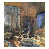 Portrait of Ker-Xavier Roussel (1867-1944) 1935 Giclée-Druck von Edouard Vuillard