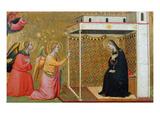 The Annunciation (Oil on Panel) Giclee Print by Bernardo Daddi