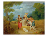 Noon, 1799 (Oil on Canvas) Giclee Print by Francis Wheatley
