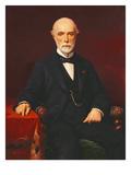 Louis-Charles De Saulces De Freycinet (1828-1923) 1880 Giclee Print by Achille Zo