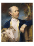 John Collins of Devizes (Fl.1771-99) 1799 (Pastel on Paper) Giclee Print by John Russell