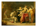 A Merry Party (Oil on Panel) Giclee Print by Pieter Jansz. Quast
