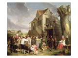 May Day, C.1811-12 (Oil on Canvas) Reproduction procédé giclée par William Collins