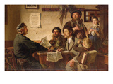 Tavern Scene, 1877 (Oil on Canvas) Giclee Print by Ernest Henseler